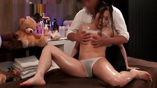 Young Cute Japanese Massage