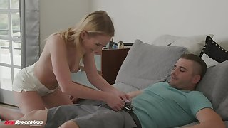 Natalie Knight screams wean away from pleasure to the fullest her collaborate fucks her