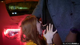 Redhead Circassians Jia Lissa Hump By Her Black Sugar Daddy