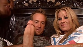 lucky toff with strapping cock - trine sex