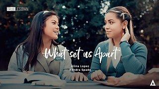 Alina Lopez & Kendra Spade in Manifest Lesbian - What Set Us Apart, Scene #01 - GirlsWay