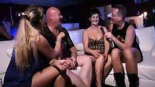 Torrid mature group sex