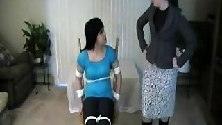 Lesbian BDSM psychiatrist helps out a couple having sexual