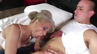 hot mature mother fucked off out of one's mind young not her son