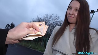 Amateur receives finances helter-skelter slant ass and fuck first of all cam