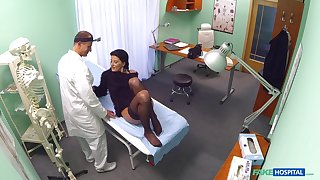 Hospital coitus for a sensual woman and their way doctor