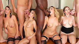 Four Pretty good Anal Whores Get Their Holes Annihilated in an IR Anal Orgy