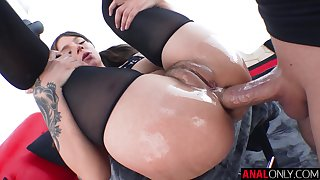 Buttfucking fun with Mr Big April Olsen
